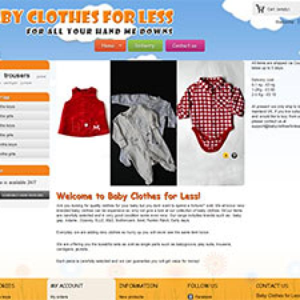 Baby Clothes for Less